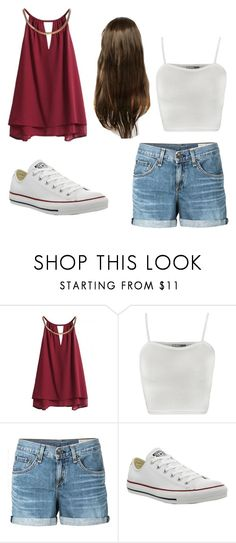 """Bree Davenport inspired ❤️"" by jake-deluca ❤ liked on Polyvore featuring WearAll, rag & bone/JEAN and Converse"