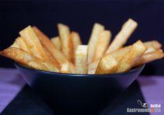 Cómo hacer patatas fritas crujientes