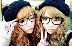 http://sweetyrainydays.blogspot.com/2015/05/fashion-post-gyaru-inspiration.html  #gyaru #kawaii #hairstyle #makeup #tutorial #japanese #japan #cute #jfashion #fashion