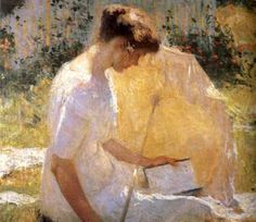 The Reader; Frank Weston Benton