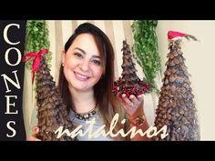 CONE NATALINO RÚSTICO - DIY Especial de Natal, por Camila Camargo