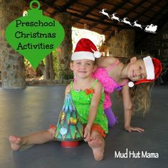 Preschool Christmas Activities - Mud Hut Mama