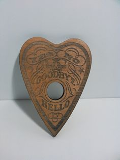 Ouija planchette i made for a customer.