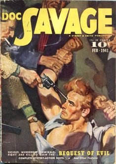 Doc Savage – Pulp Covers