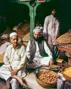 Dried fruit and nuts are sold in the market of Quetta Pakistan. Not merely snacks dried fruits and nuts are often served as a meal particularly breakfast. Photo from my book #VanishingAsia #pakistan #quetta