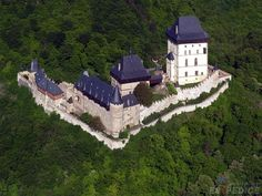 Karlstejn castle - Czech Republic   photo researched by http://www.iconhotel.eu/en/contact/how-to-find-us