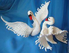 Мастер-класс Лебедь . Авторская работа - белый,птица,подарок,подарок девушке