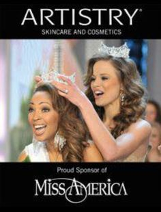 Did you know that Artistry is a proud sponsor of Miss America? Find Artistry beauty product on our website: www.amway.com/Rhuizenga Get 10% off when you sign up as a customer. Happy shopping!!!