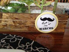 Tag Personalizado Moustache Efe'Studio Design®
