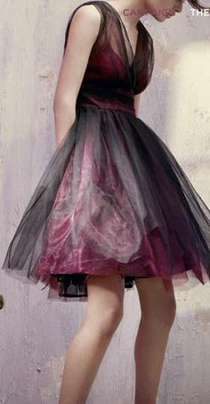 Black and pink tulle dress |  CLICK THIS PIN if you want to learn how you can EARN MONEY while surfing on Pinterest LOVE IT NOT ME THOUGH