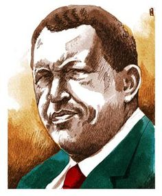 """Autumn of the Patriarchs"" -- Shlomo Ben-Ami on dictators' death  Read the full article here: http://www.project-syndicate.org/commentary/the-stage-managed-death-of-hugo-chavez-by-shlomo-ben-ami  (Illustration by Paul Lachine)"