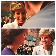 Diana with her sister Sarah