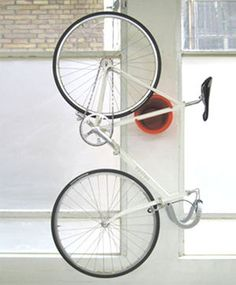 minimalist bike storage