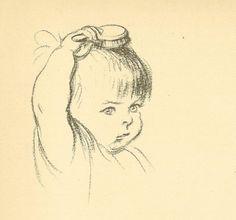 Ink Illustrations, Illustration Sketches, Drawing Sketches, Cartoon Faces, Cartoon Drawings, Art Drawings, Family Sketch, Children Sketch, Deep Art