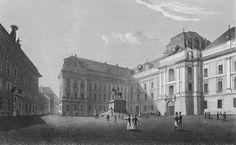Nationalbibliothek am Josefsplatz - http://www.hofburg-wien.at/wissenswertes/die-hofburg/baugeschichte.html