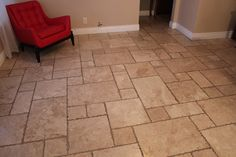 Marble chiseled edge french pattern