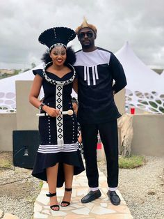 This is how a Xhosa newly wedding dresses like. She is called umakoti. Xhosa In south Africa clothes are a sign of respect to the new family African Print Dresses, African Fashion Dresses, African Dress, African Wear, African Style, South African Traditional Dresses, Traditional Outfits, Modern Traditional, African Wedding Attire