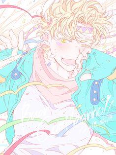from the story Jojo's Love by LittleGirlMonster (Umizora~~) with reads. Cute Characters, Anime Characters, Jojo Part 2, Jojo Bizarre Adventure, Anime Drawing Styles, Joseph Joestar, Sad Pictures, Jojo Memes, Anime Manga