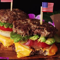 Bread buns are overrated — try this protein packed inverted cheeseburger instead.