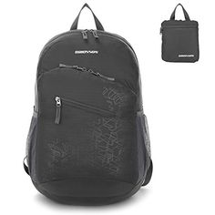 ORICSSON 20L Unisex Durable Lightweight Foldable Waterproof BackpacksGrey >>> Click on the image for additional details. Note:It is Affiliate Link to Amazon.