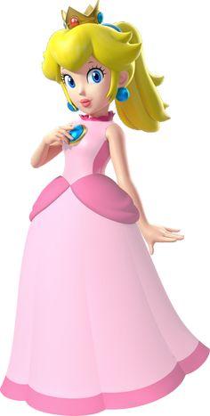 Super Mario Sunshine Princess Peach by CaitlinTheStarGirl on . Mario Kart, Mario Bros., Mario And Luigi, Mario Bros Kuchen, Mario Bros Cake, Super Princess Peach, Princess Daisy, Super Mario Princess, Super Mario Party