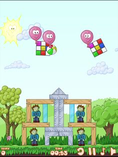 Play #HeliumRush. Funny and dynamic flash game with the elements of the physical puzzle is played in the same breath.