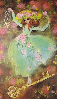 Vintage 70's Illustration