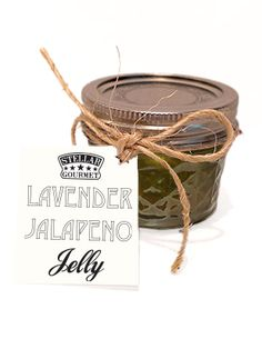 Our Stellar gourmet Lavender Jalapeno Jelly made with local ingredients has a surprisingly sweet spiced apple flavor with just a hint of Texas lavender and heat. Use as a pork glaze or pour over cream cheese for parties. Makes a great Texas wedding favor as well!