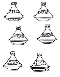 Moroccan tajine kids craft