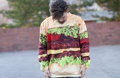 Burger sweater!