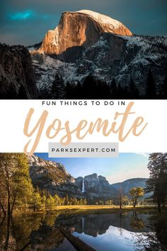 All the best things to do in Yosemite, including Yosemite National Park and its heart, Yosemite Valley. Read about the best hikes, where to stay, and more! | Things to Do in Yosemite | Things to Do in Yosemite Valley | Things to Do in Yosemite National Park | #yosemite #yosemitenationalpark #california #nationalparks Southern California Beaches, California Travel, Yosemite National Park, National Parks, Stuff To Do, Things To Do, Travel Usa, Travel Tips, Yosemite Valley