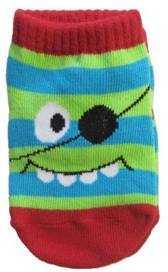 Pirate monster ankle socks are an adorable way to keep your little ones feet warm.