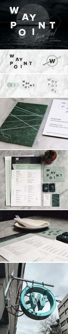 Waypoint Restaurant Brand Design by Might & Main
