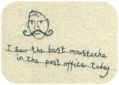 Moustache by Janet Clare