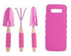 Pink Garden Tool Gift Sets | Think Pink | Pinterest | Pink Garden, Gardens  And Gift