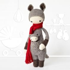 Check out what you need to crochet these cute little fellows. These patterns by lalylala are perfect projects for beginners.