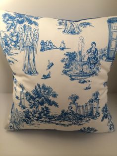 Hey, I found this really awesome Etsy listing at https://www.etsy.com/au/listing/220431784/weeping-angels-pillow-cover-toile