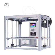 Flyingbear Tornado large 3d Printer DIY Full metal Linear rail 3d printer High Quality Precision double extruder
