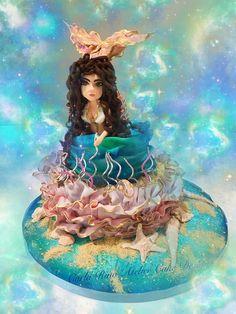 A mermaid cake for an ocean lover❤️