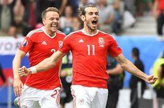 Gales vs Eslovaquia  Gol de Bale