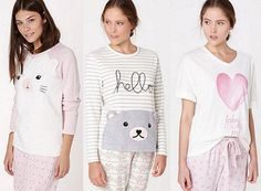 pijamas oysho 2014 Summer Pajamas, Cozy Pajamas, Pyjamas, Pjs, Pijamas Women, Cute Sleepwear, Lingerie, Outfits For Teens, Nightwear