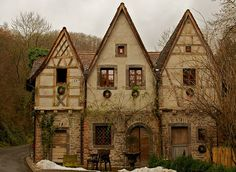 Fairy tale cottage.