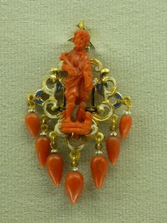 Coral Brooch in Trapani Museum