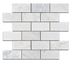 Marble Tile - Ocean White Marble Tile - Page 1 - Portland Direct Tile & Marble Flooring Store, Copper Mosaic, Marble Mosaic, White Marble Tiles, Mosaic Tiles, Flooring, Porcelain Floor Tiles, Mosaic, Marble Subway Tiles