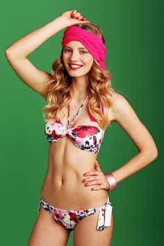 TAI RGM102 SLM01 #bikini #floral #tahiti #beachwear #beautiful
