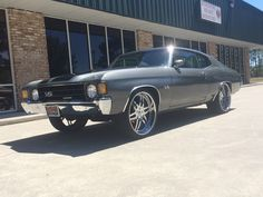 72 Chevelle SS on staggered