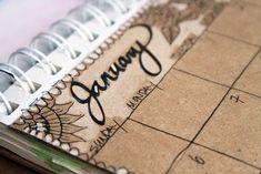 alisaburke: handmade calendar/planner