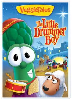VeggieTales: The Little Drummer Boy is a heartwarming tale that retells the classic The Little Drummer Boy story. Christmas Stories For Kids, Preschool Christmas, A Christmas Story, Christmas Movies, The Little Drummer Boy, Christmas Worksheets, Mary And Martha, Veggietales, Birth Of Jesus