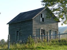 Weathered Wood House