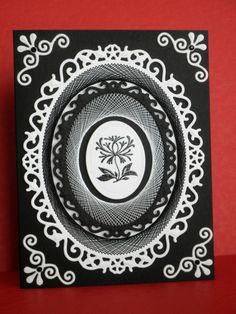 A Study in Black and White #3 by mother's daughter - Cards and Paper Crafts at Splitcoaststampers